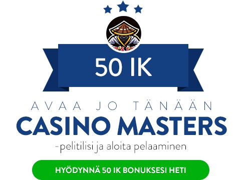 Casino Masters ilmaiskierrosta