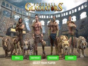 Football Gladiators hahmot