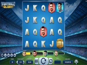 Football Glory kolikkopeli