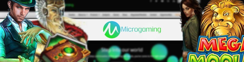 Parhaat palautusprosentit - Microgaming