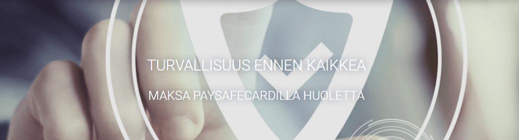 Paysafecard casino luotettava