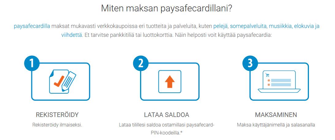Mikä on Paysafecard