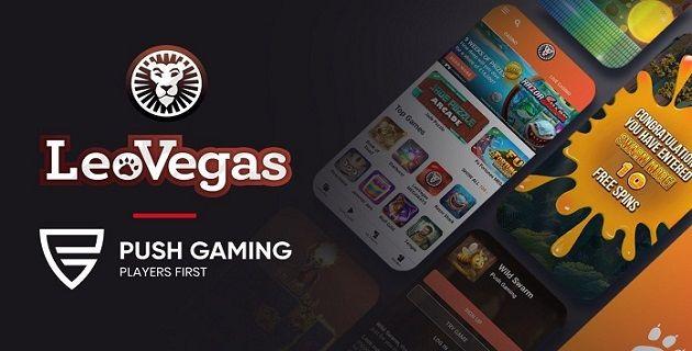 Push-Gaming LeoVegas