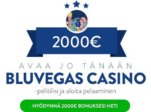 BluVegas casino bonus