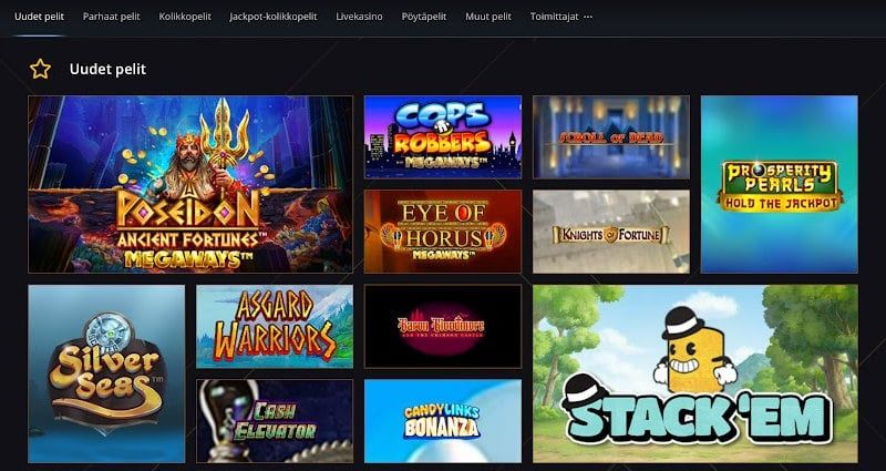 21 Casino Pelit