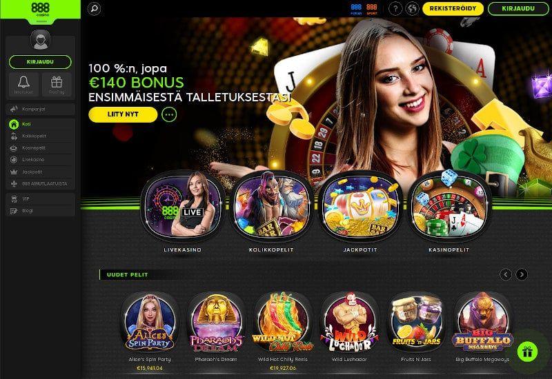 888 Casino Käytettävyydestä