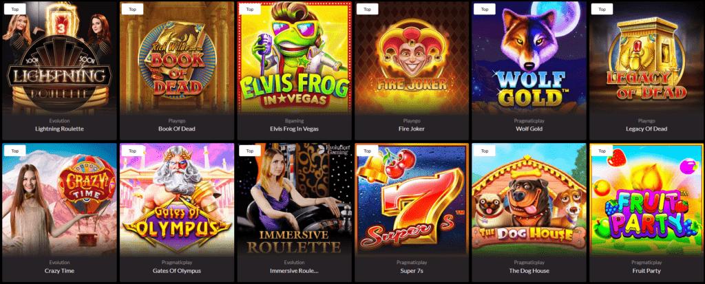 Premier Casino Pelit