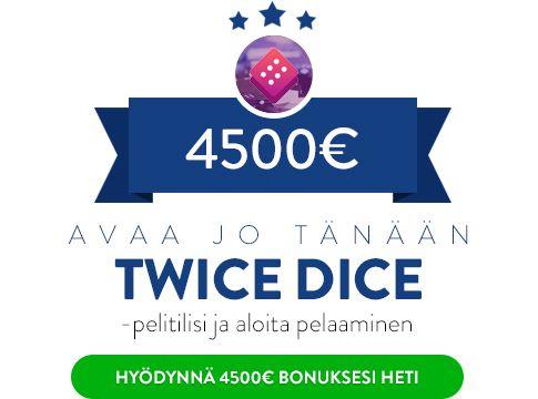 TwiceDice Casino Bonus