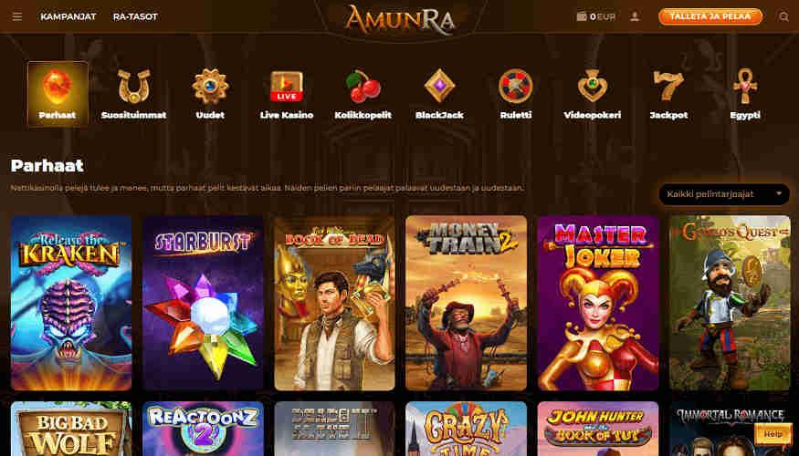 AmunRa Casino aula