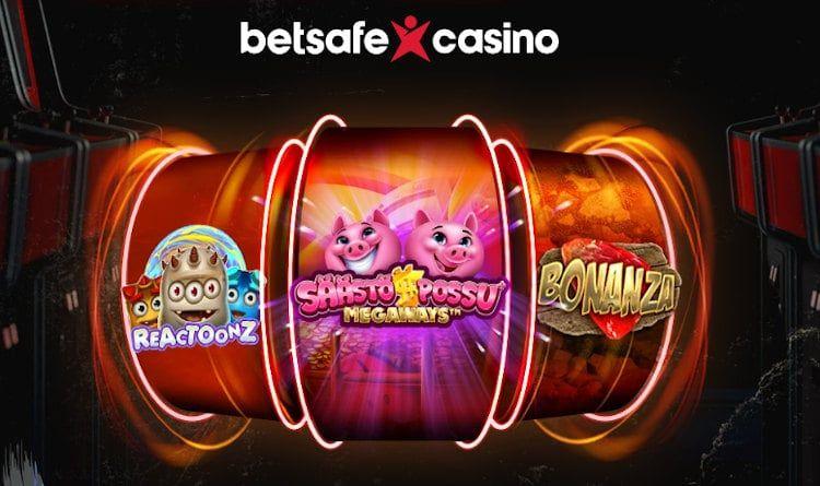 Betsafe Casino Pelit
