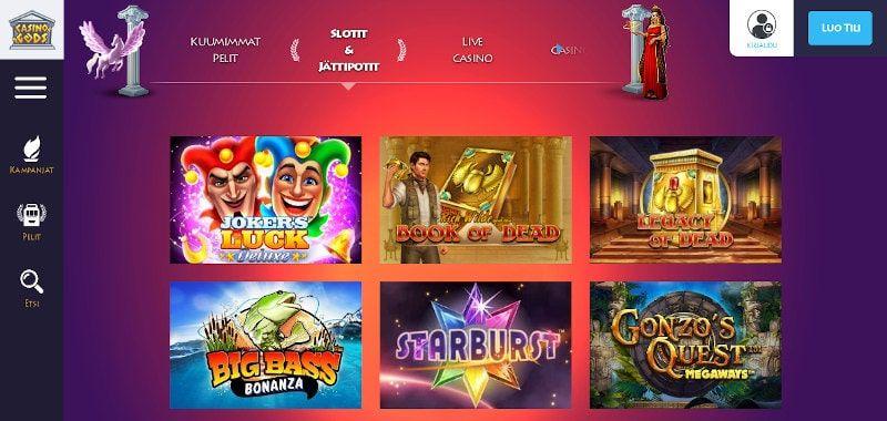 Casino Gods Pelit