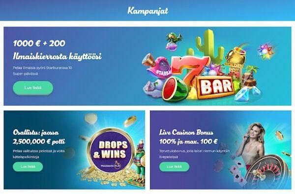 Casino Joy Kampanjat