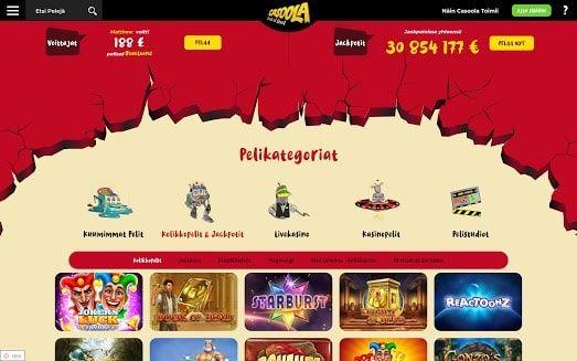 Casoola Casino Pelit