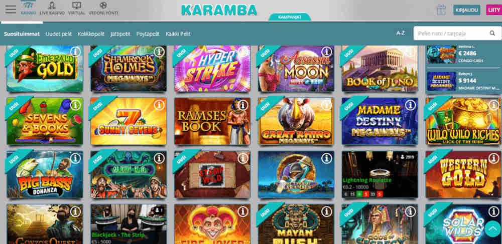 Karamba Casino aula