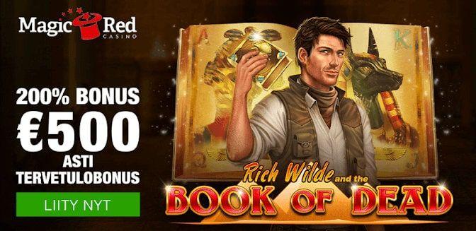 MagicRed Casino Bonukset