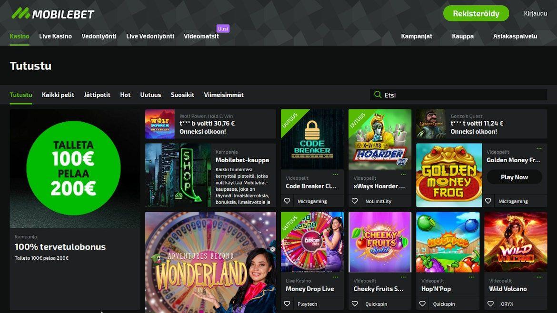 Mobilebet Casino Käytettävyydestä