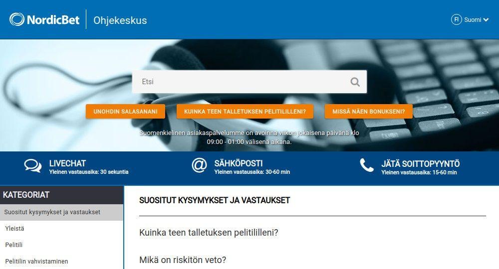 NordicBet Casino aspa