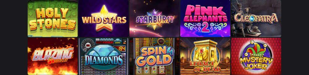 One Casino pelejä