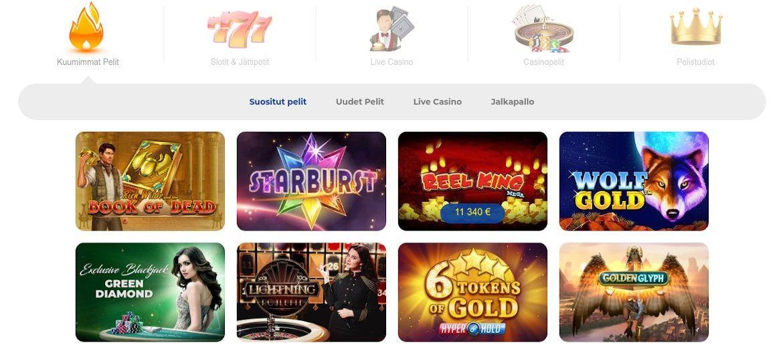 Pelaa Casino Pelit