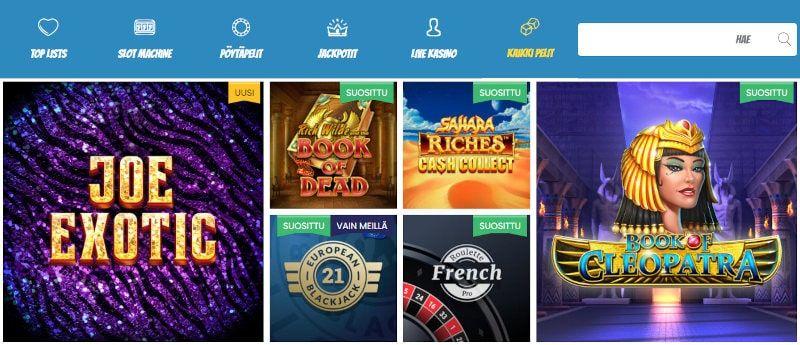 Play Jango Casino Pelit