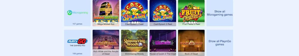 Simppeli Casino pelejä