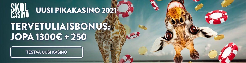 Skol - uusi kasino 2021