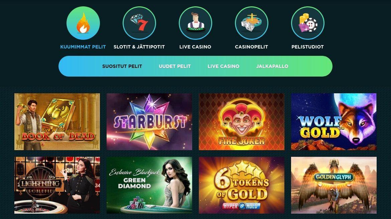 Spela Casino Pelit