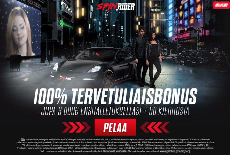 Spin Rider Casino Bonukset