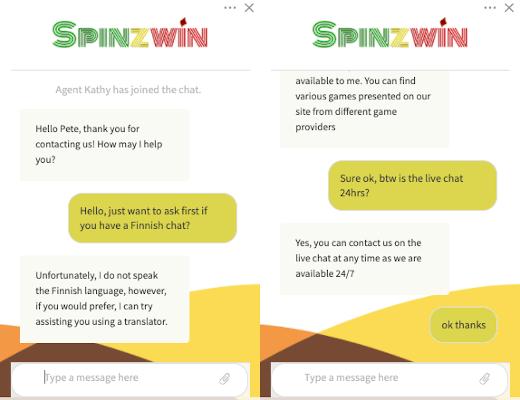 Spinzwin Casino aspa