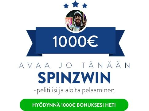 Spinzwin Casino Bonus