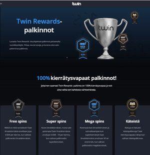 Twin Casino uskollisuuspalkinnot