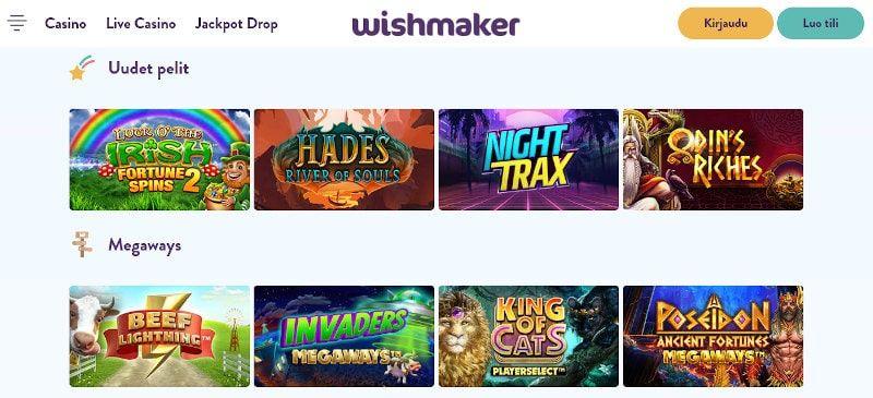 Wishmaker Casino Pelit