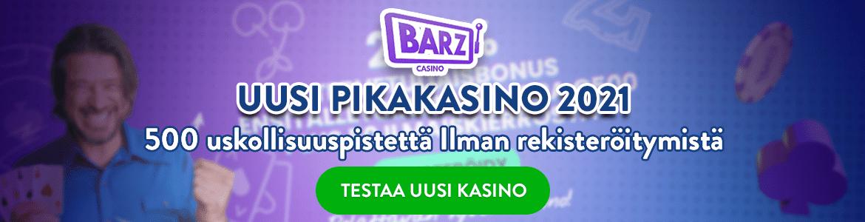 Barz - uusi kasino 2021
