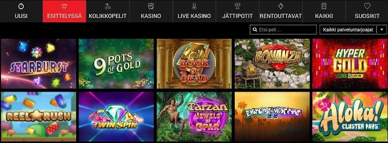 BritainBet Casino Pelit