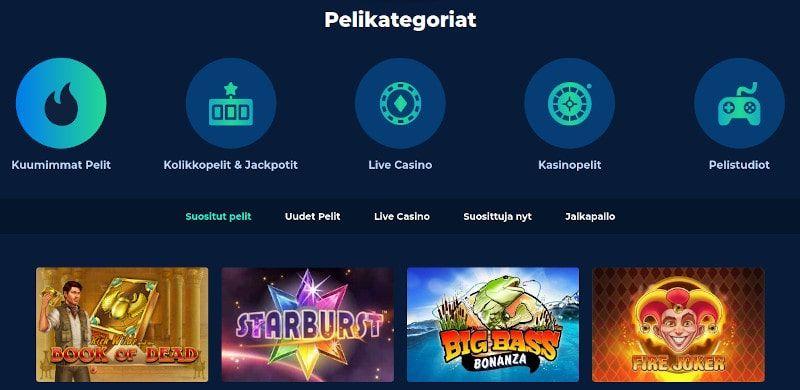 Casino Planet pelit