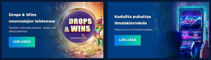 Casino Planet tarjoukset