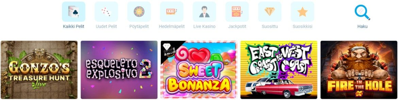 Craze Play Casino pelit