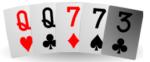 Kaksi paria pokerikasi