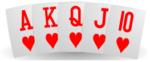 Kuningasvärisuora eli reeti pokerikasi
