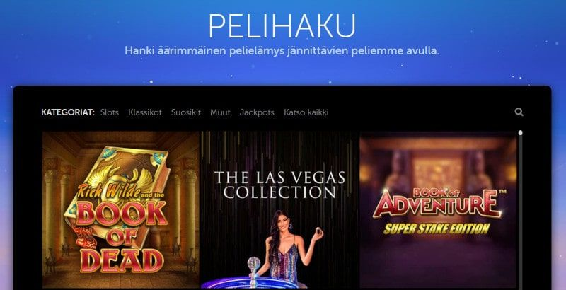 LuckyLouis Casino pelit