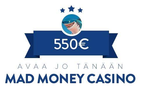 MadMoney Casino bonus