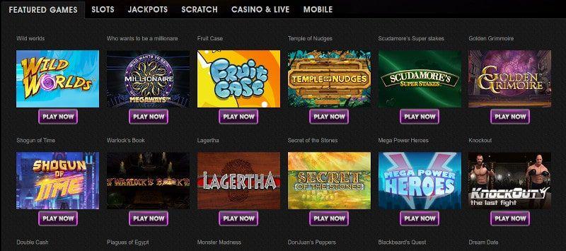 Vegas Paradise Casino pelit