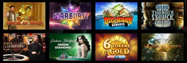 Vegasoo Casino pelit