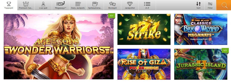 Casino.com pelit