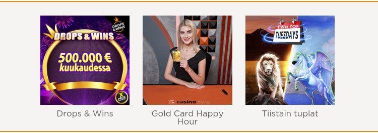 Casino.com tarjoukset