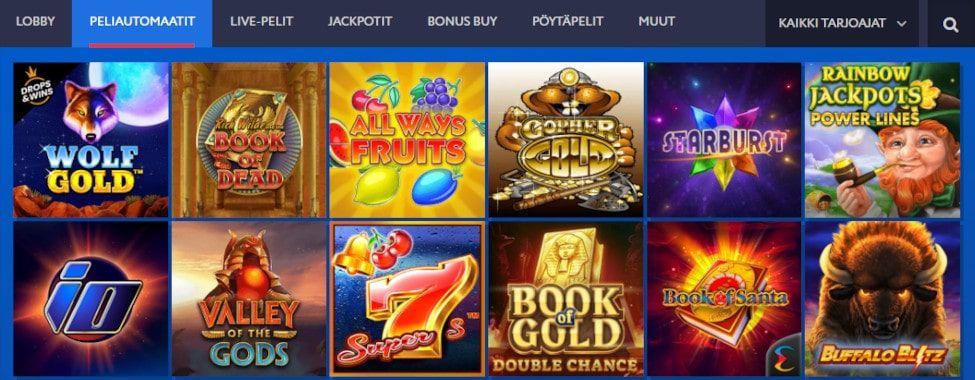 EUSlot Casino pelit