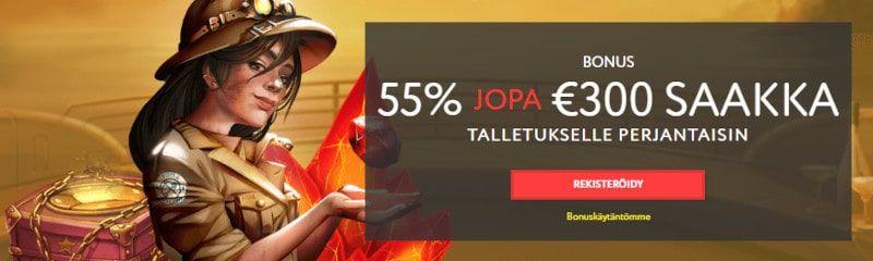 EUSlot Casino tarjoukset