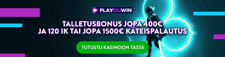 Uusi kasino 2021 - Playouwin