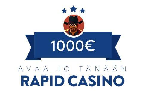 Rapid Casino bonus