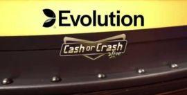 Uutta Evolutionilta: Cash or Crash Live